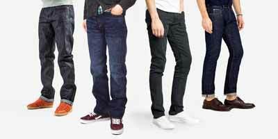 6 cách chọn quần jean/bò nam đẹp và phù hợp với từng dáng người