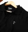 Áo Polo Coolmate thêu Care&Share màu đen