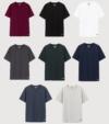 Combo 8 áo thun nam Cotton Compact phiên bản Premium chống nhăn